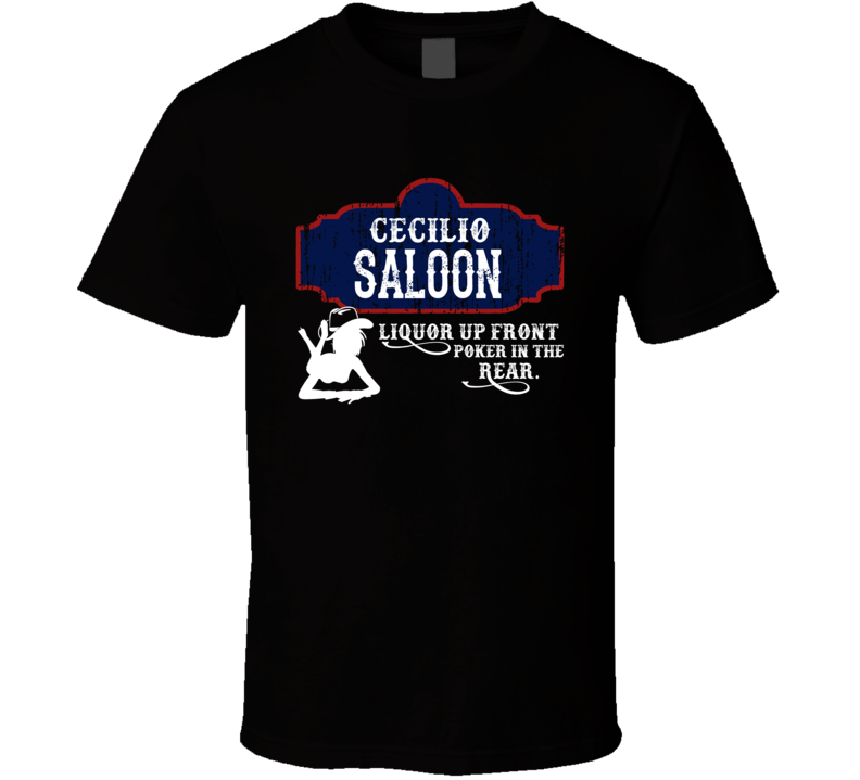 Cecilio Saloon First Name T Shirt