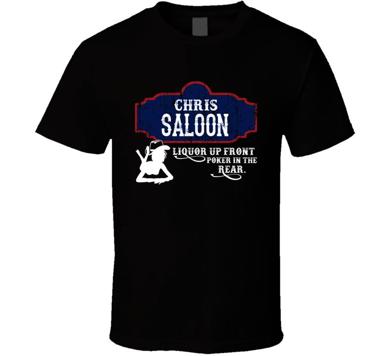 Chris Saloon First Name T Shirt