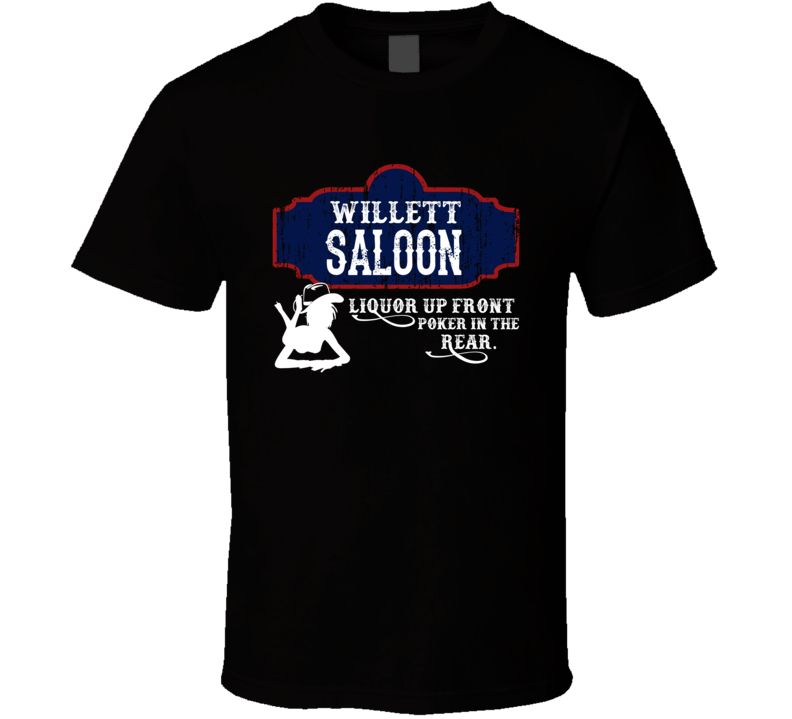 Willett Saloon First Name T Shirt