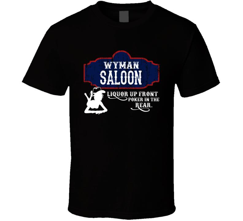 Wyman Saloon First Name T Shirt