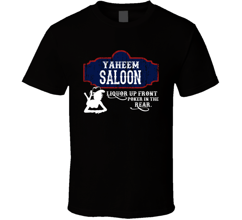 Yaheem Saloon First Name T Shirt