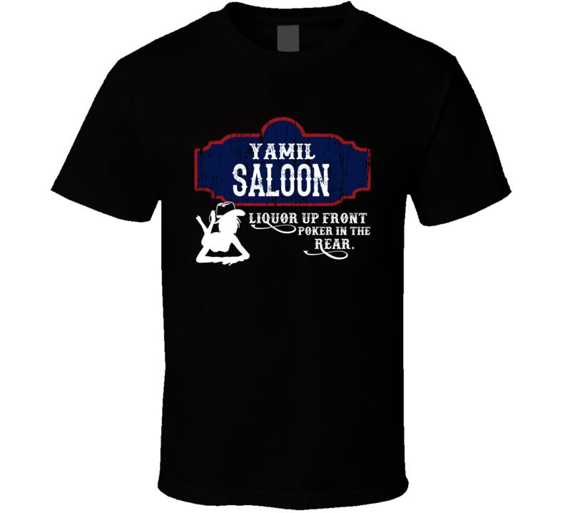 Yamil Saloon First Name T Shirt
