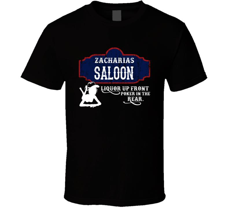 Zacharias Saloon First Name T Shirt