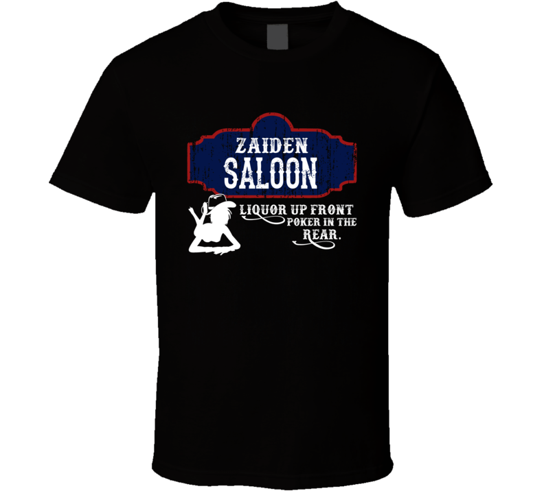 Zaiden Saloon First Name T Shirt