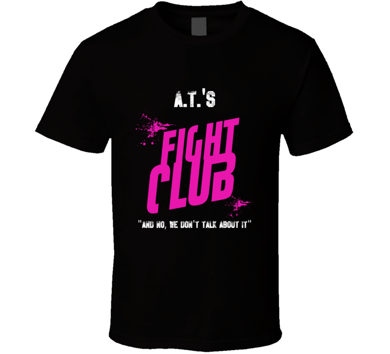 A T Fight Club Parody T Shirt