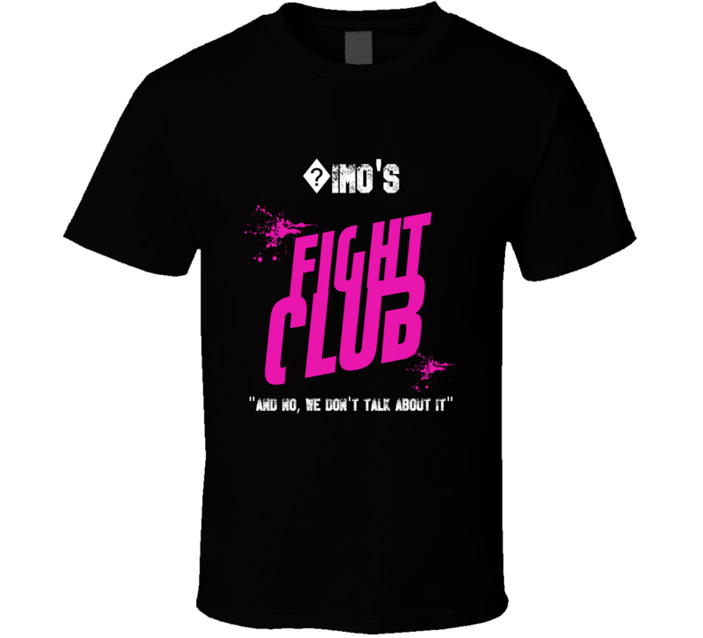 ?imo Fight Club Parody T Shirt