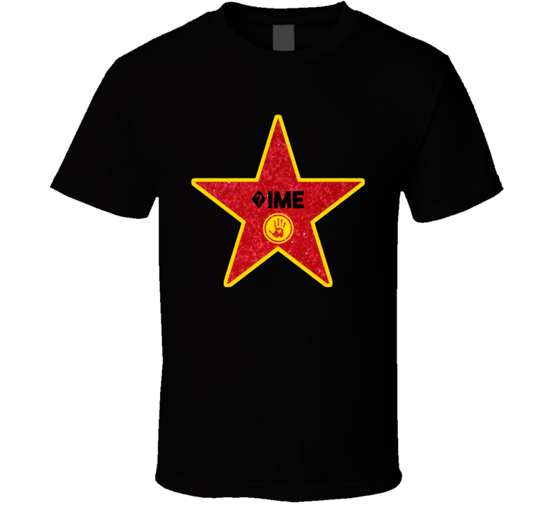 ?ime Hollywood Walk Of Fame Star Name T Shirt