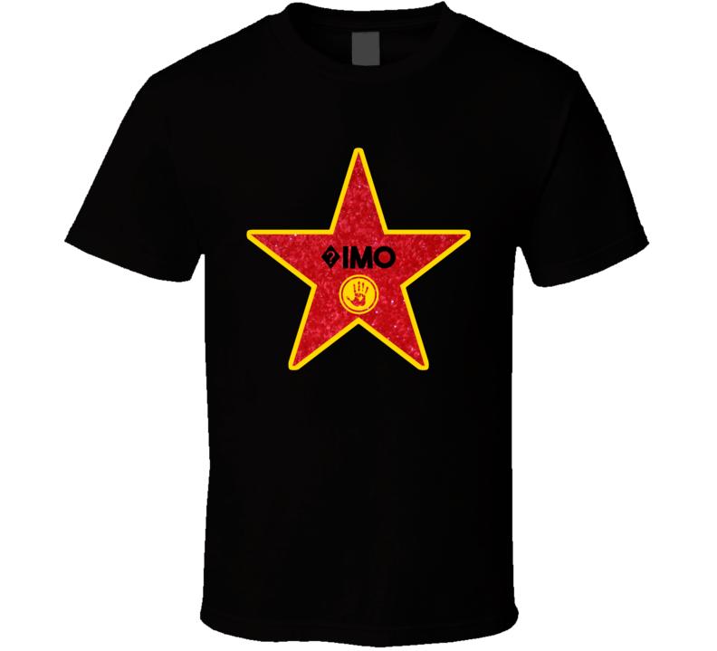 ?imo Hollywood Walk Of Fame Star Name T Shirt