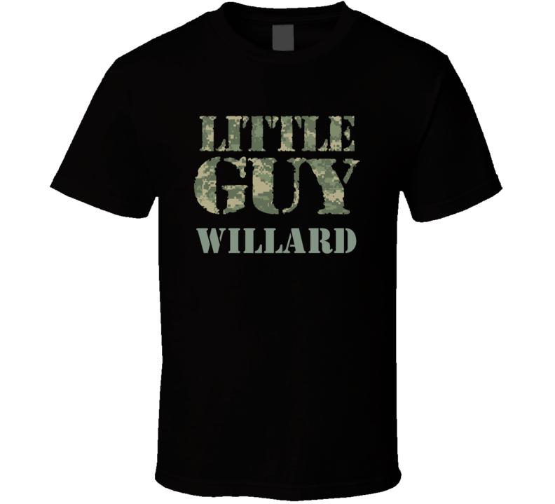 Little Guy Willard Personalized Name T Shirt