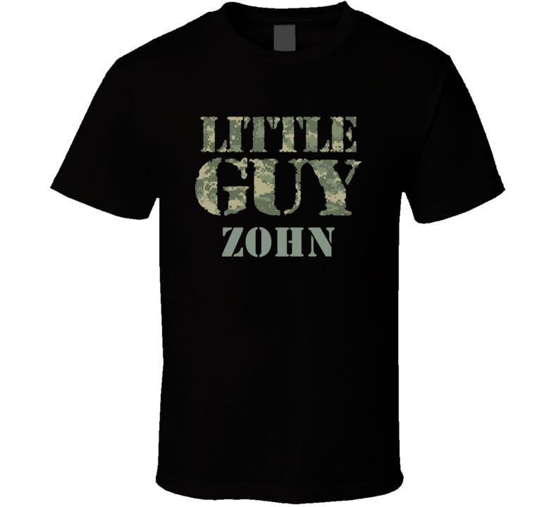 Little Guy Zohn Personalized Name T Shirt