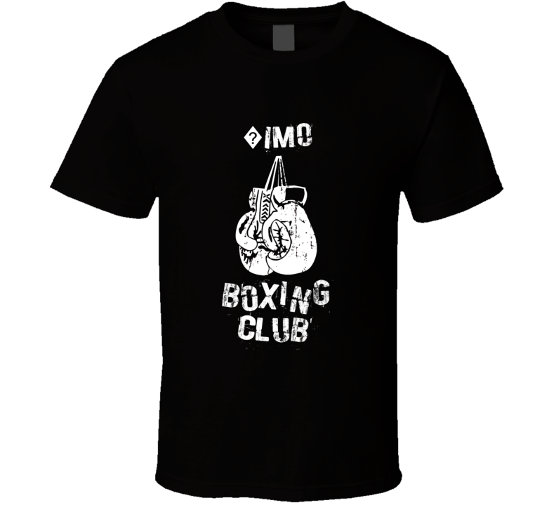 ?imo Boxing Club First Name T Shirt
