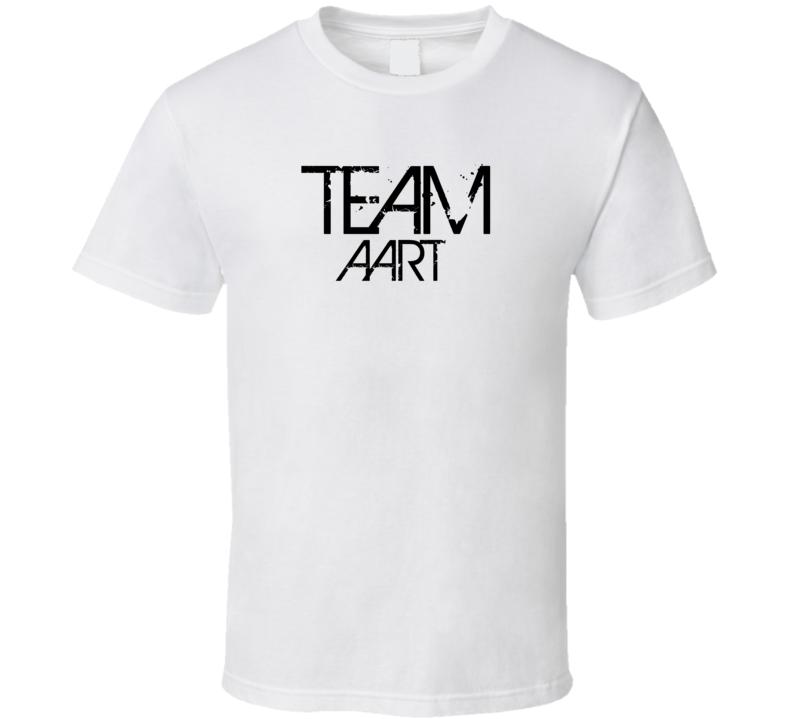 Team Sports Last First Name Aart T Shirt