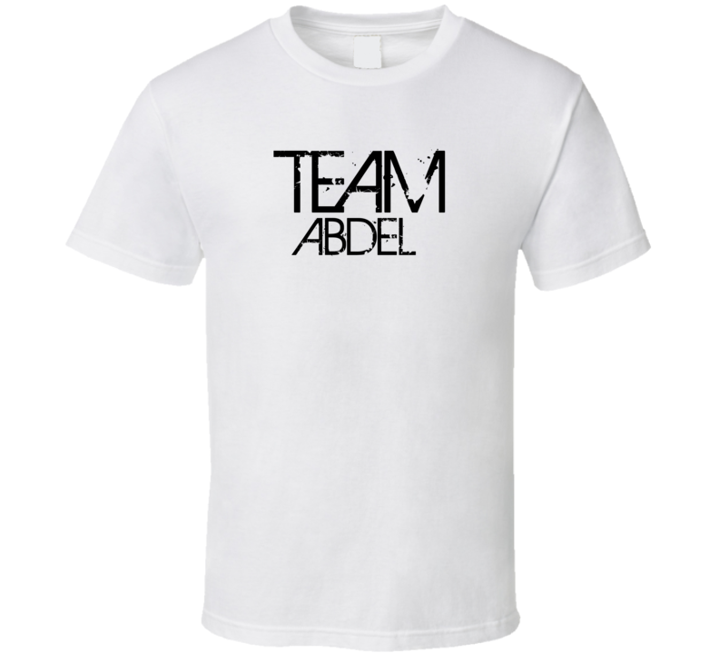 Team Sports Last First Name Abdel T Shirt