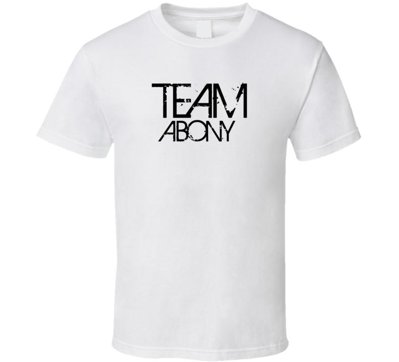 Team Sports Last First Name Abony T Shirt