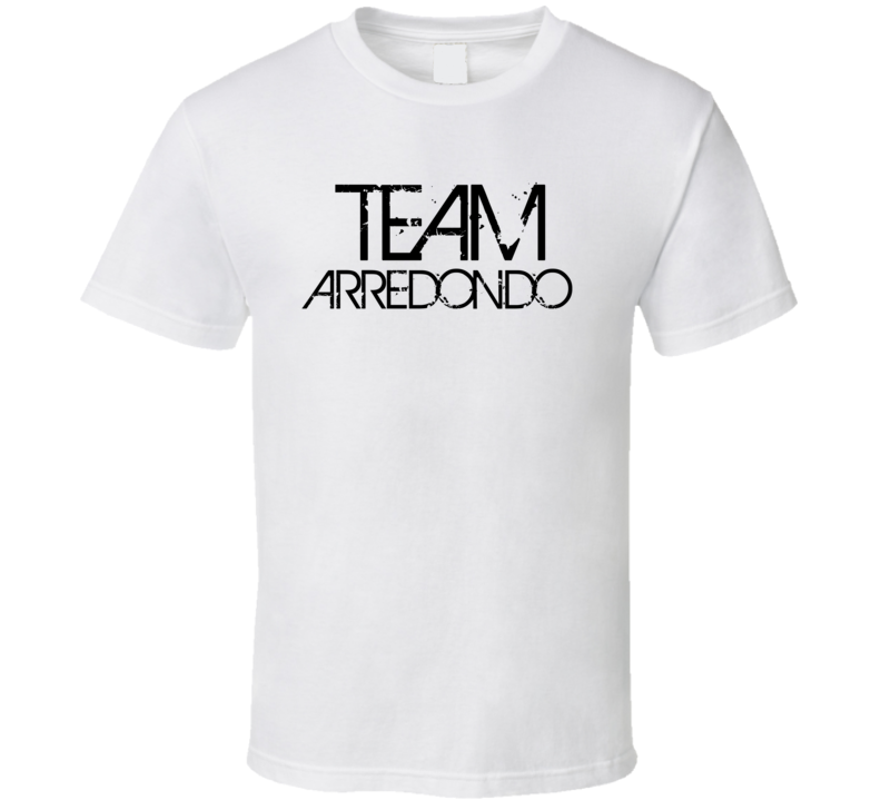 Team Sports Last First Name Arredondo T Shirt