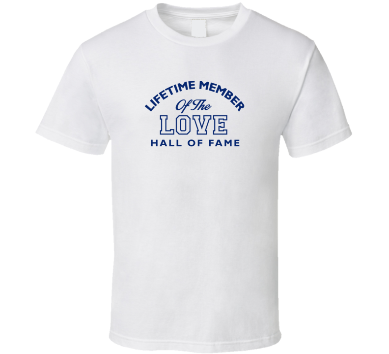 Lifetime Member Of The Hall Of Fame Name T Shirt