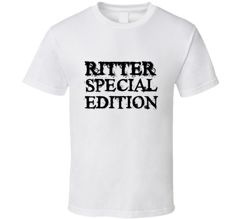 Ritter Special Edition Name T Shirt