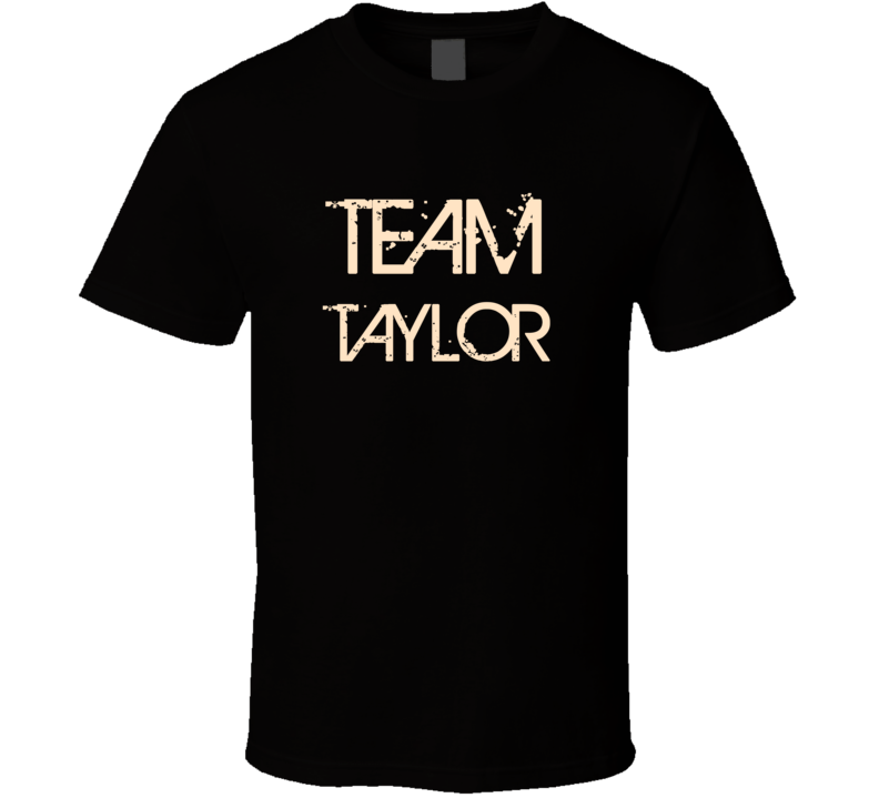 Team Sports Last First Name Taylor T Shirt
