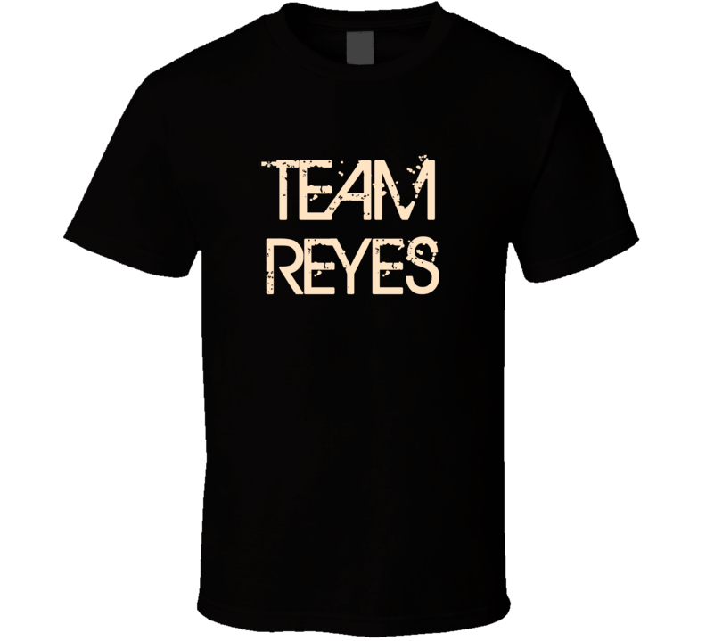 Team Sports Last First Name Reyes T Shirt