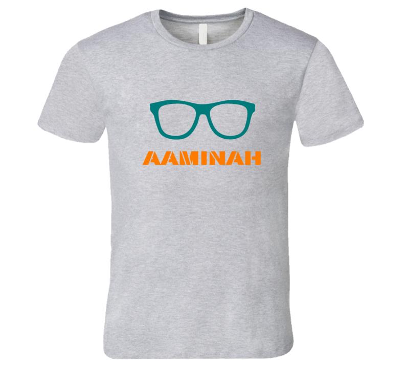 Aaminah Funny Cute Nerd Glasses T Shirt