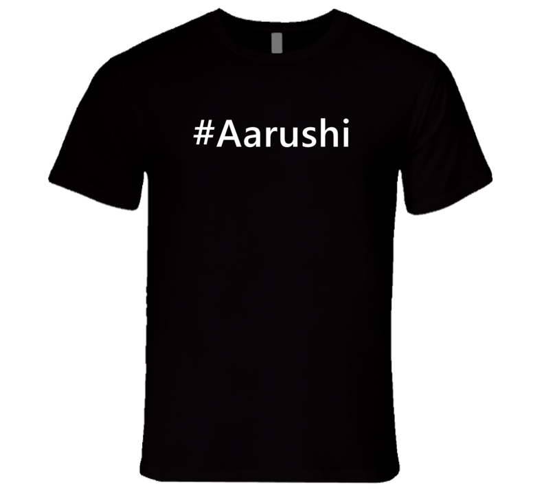 Hashtag Aarushi Trending First Name T Shirt