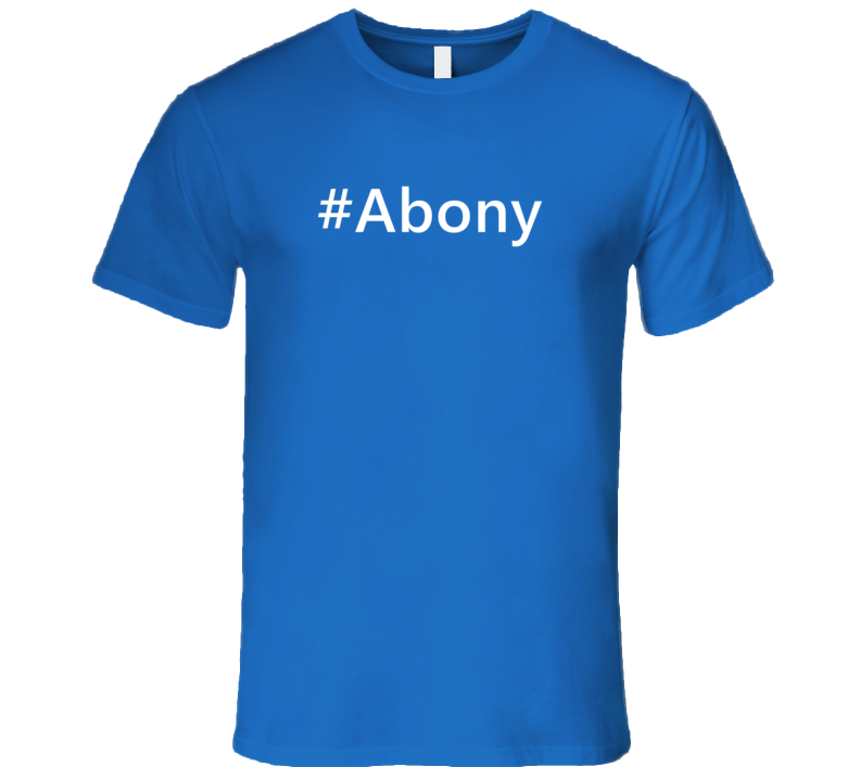 Hashtag Abony Trending First Name T Shirt