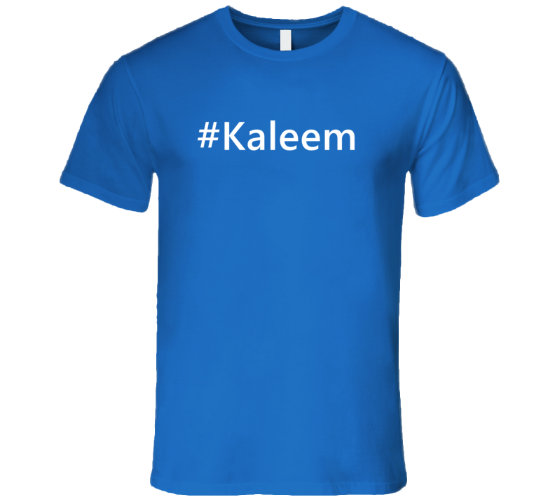 Hashtag Kaleem Trending First Name T Shirt