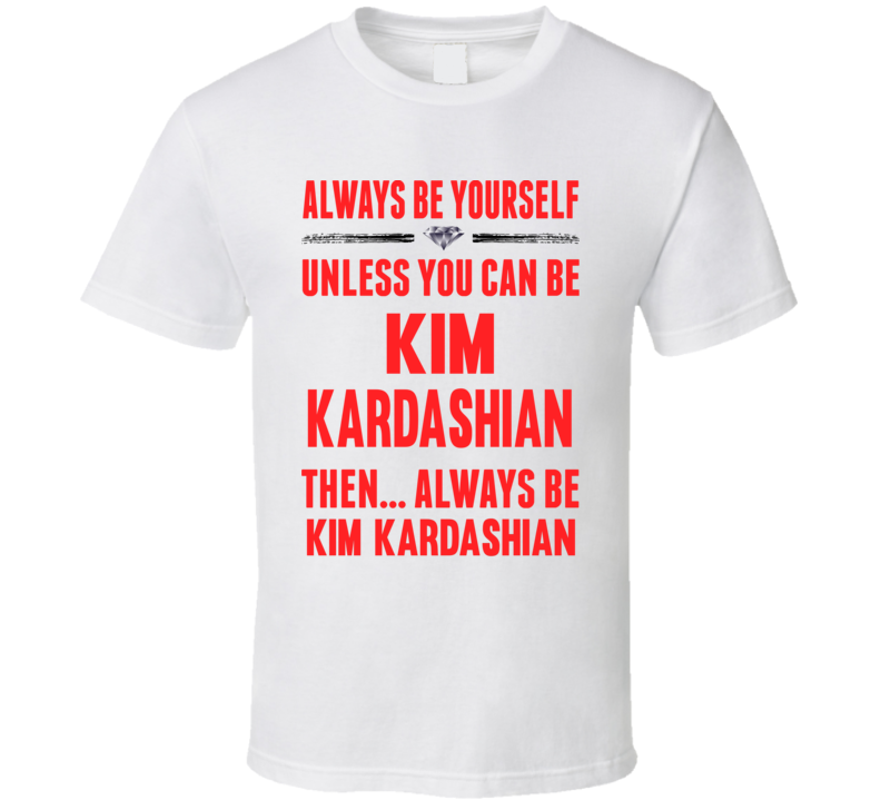 New Platinum Blonde Kim Kardashian T Shirt