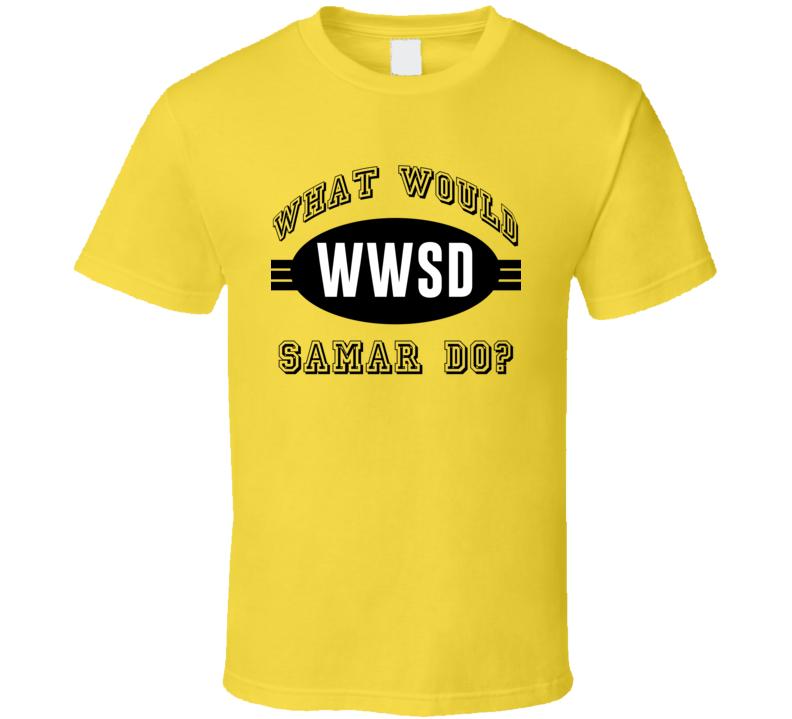 What Would Samar Do WWJD Parody Custom Name T Shirt
