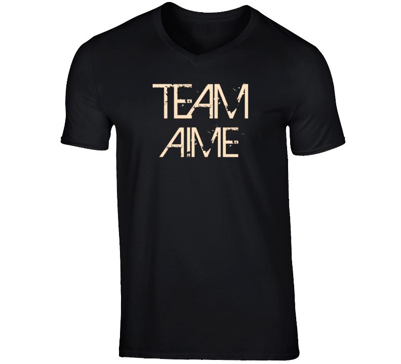 Team Sports Last First Name Aime T Shirt