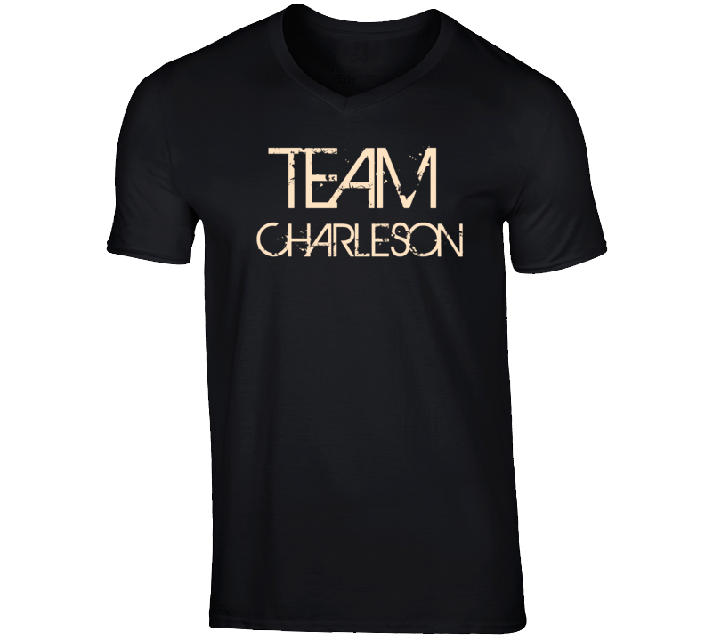 Team Sports Last First Name Charleson T Shirt