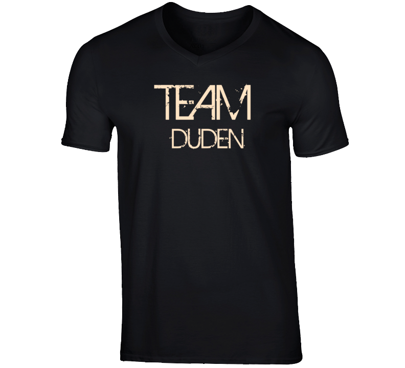 Team Sports Last First Name Duden T Shirt