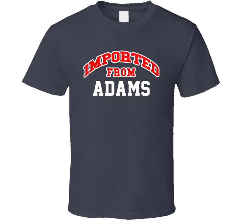 Imported From Adams North Dakota Sports Team Trade T Shirt