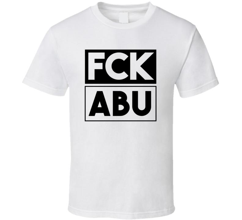 Fck ABU Simbel      Funny Graphic Patriotic T Shirt