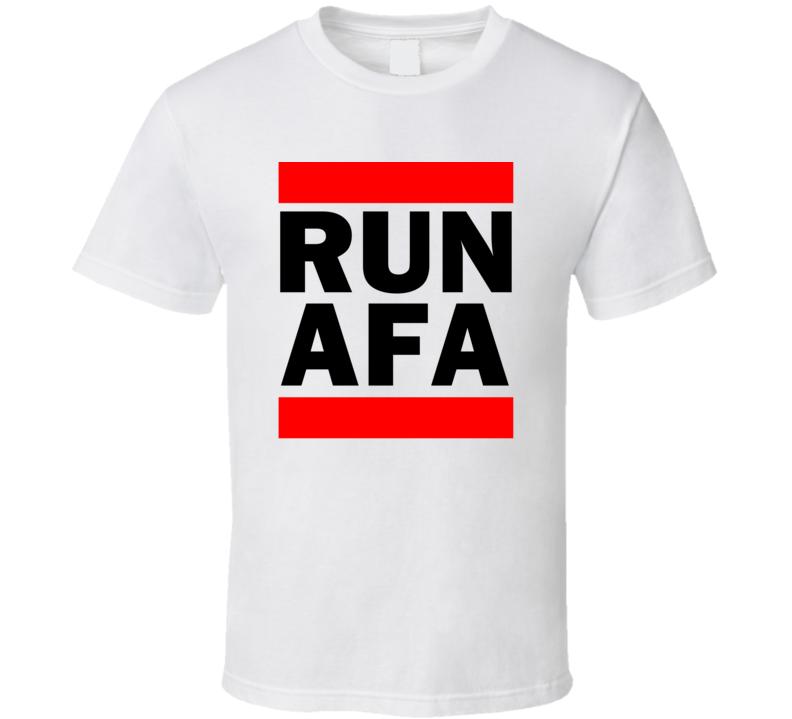 Run AFA Argentina      Funny Graphic Patriotic Parody T Shirt