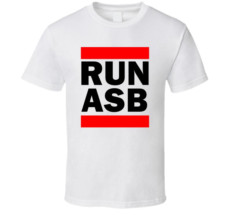 Run ASB Turkmenistan      Funny Graphic Patriotic Parody T Shirt