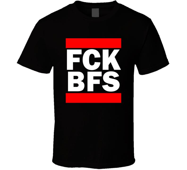 Fck BFS Northern Ireland     Funny Graphic Patriotic Parody Black T Shirt