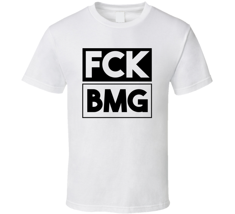 Fck BMG IN USA Monroe County   Funny Graphic Patriotic T Shirt