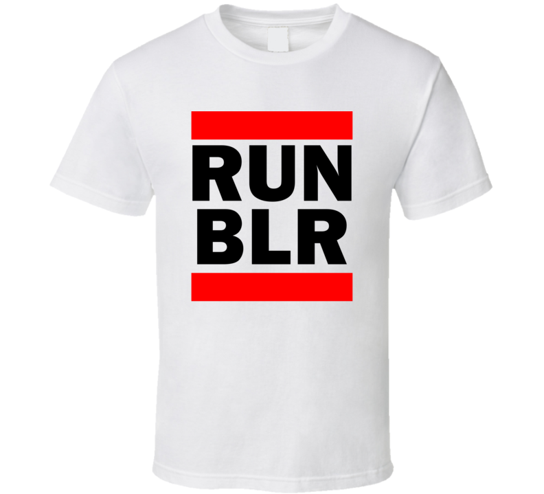 Run BLR India Hindustan     Funny Graphic Patriotic Parody T Shirt