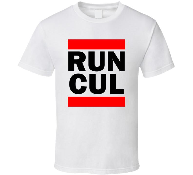 Run CUL Sinaloa Mexico     Funny Graphic Patriotic Parody T Shirt