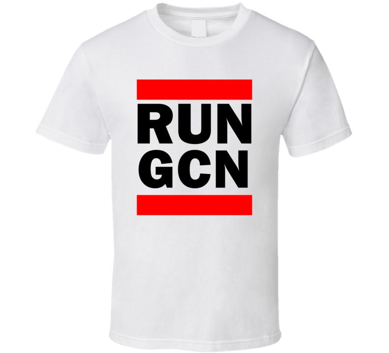 Run GCN AZ USA     Funny Graphic Patriotic Parody T Shirt