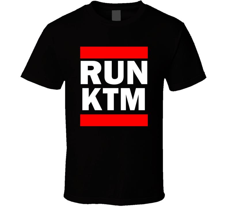 Run KTM Nepal Tribhuvan     Funny Graphic Patriotic Parody Black T Shirt
