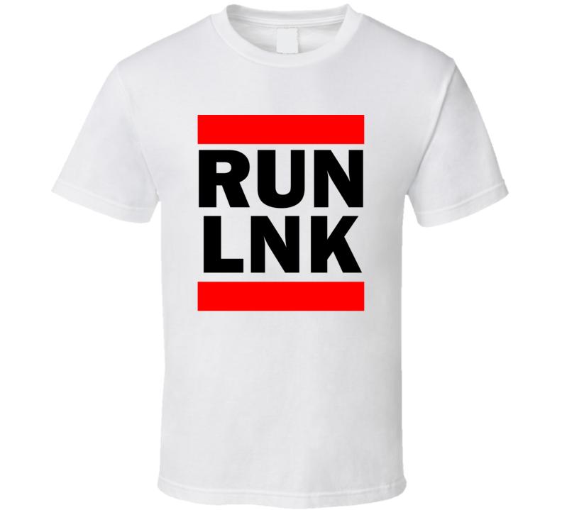 Run LNK NE USA Municipal Airport   Funny Graphic Patriotic Parody T Shirt
