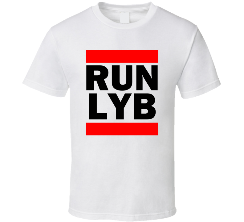 Run LYB Cayman Islands     Funny Graphic Patriotic Parody T Shirt