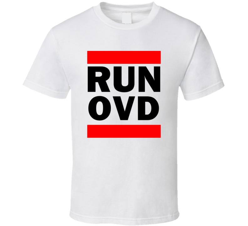 Run OVD Spain Asturias     Funny Graphic Patriotic Parody T Shirt