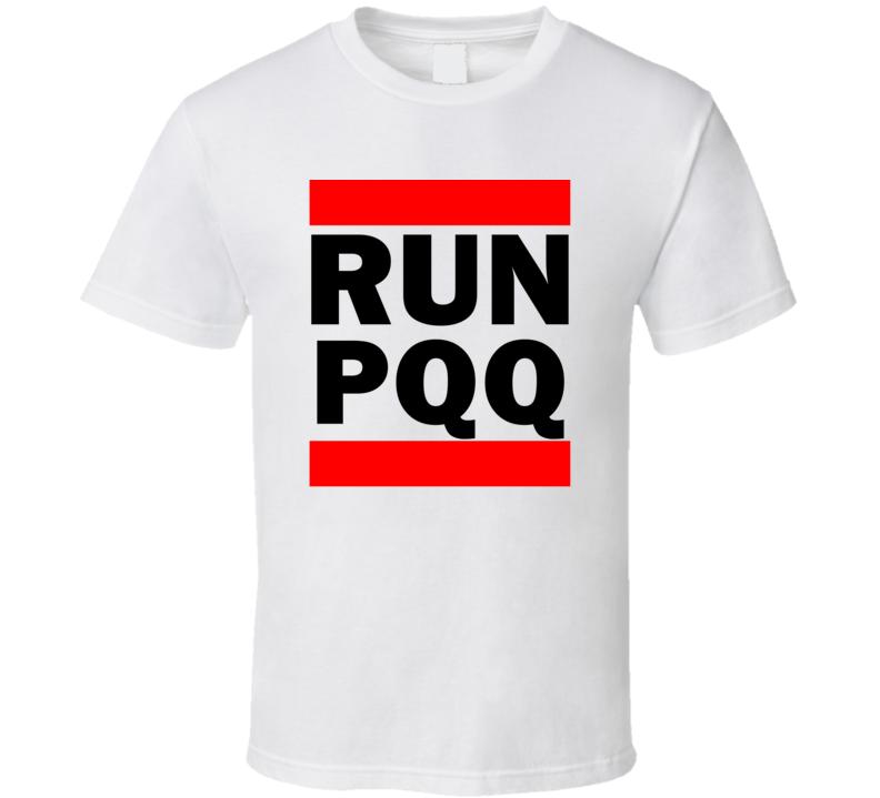 Run PQQ New South Wales Australia   Funny Graphic Patriotic Parody T Shirt