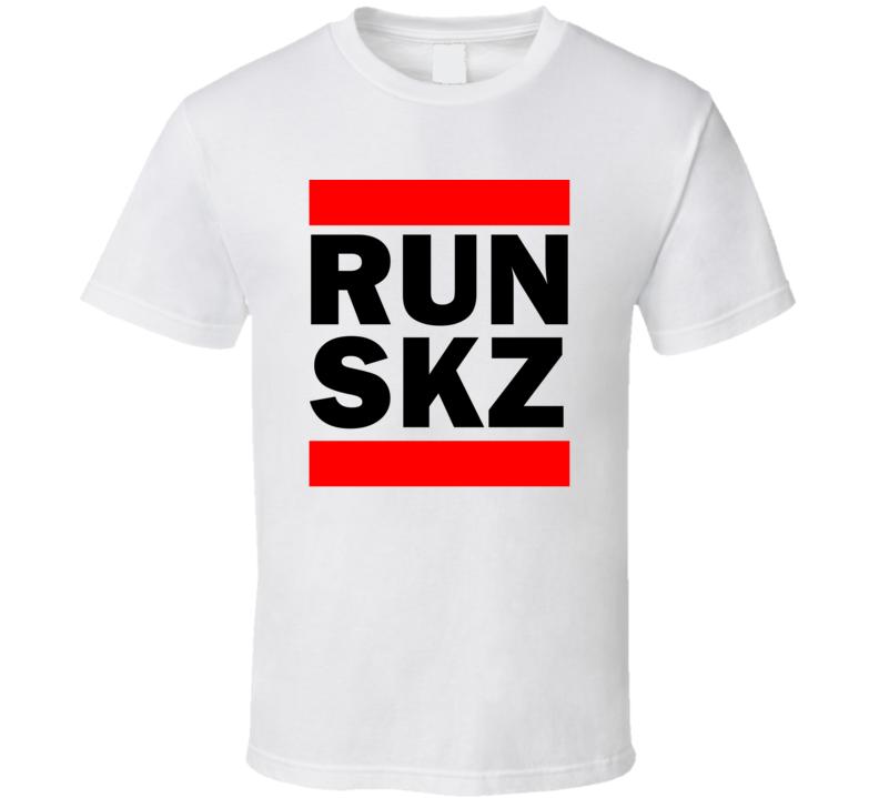 Run SKZ Pakistan      Funny Graphic Patriotic Parody T Shirt