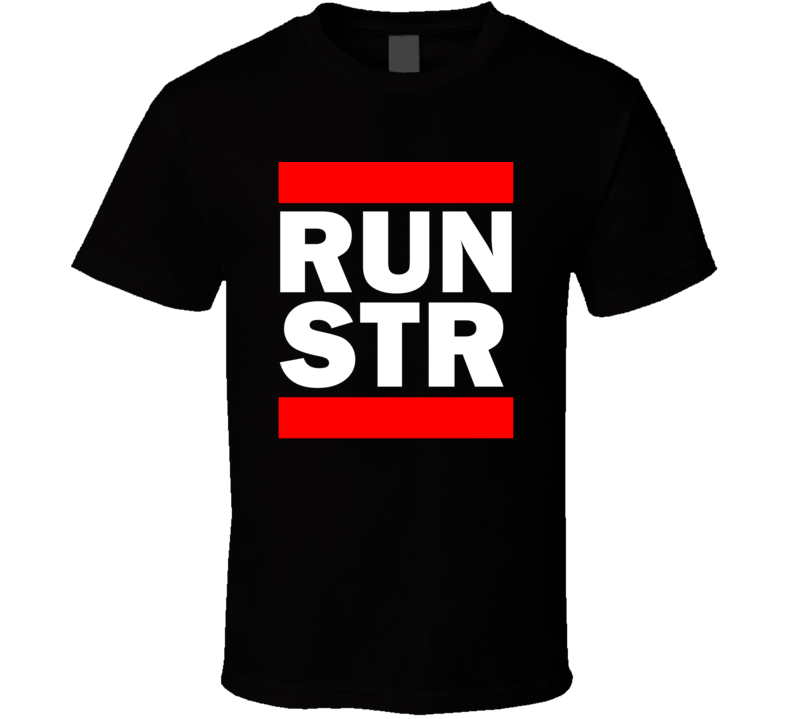 Run STR Germany Echterdingen     Funny Graphic Patriotic Parody Black T Shirt