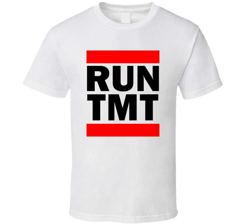 Run TMT Brazil      Funny Graphic Patriotic Parody T Shirt