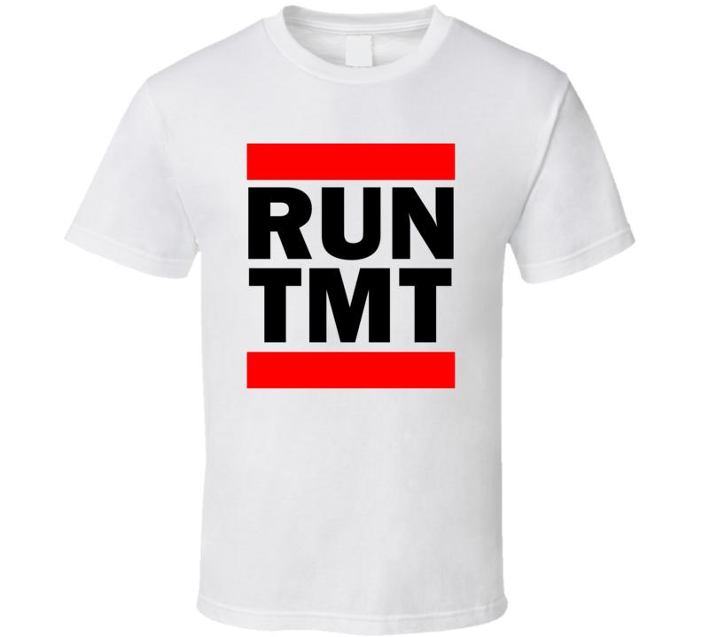 Run TMT Brazil      Funny Graphic Patriotic Parody T Shirt